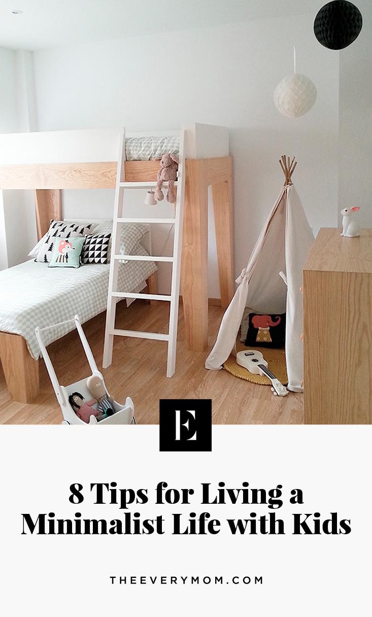 minimalist kids room