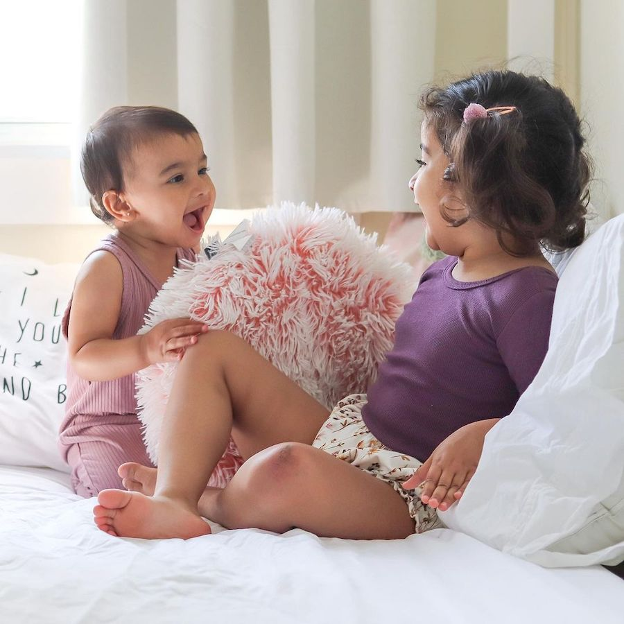 baby and toddler girls