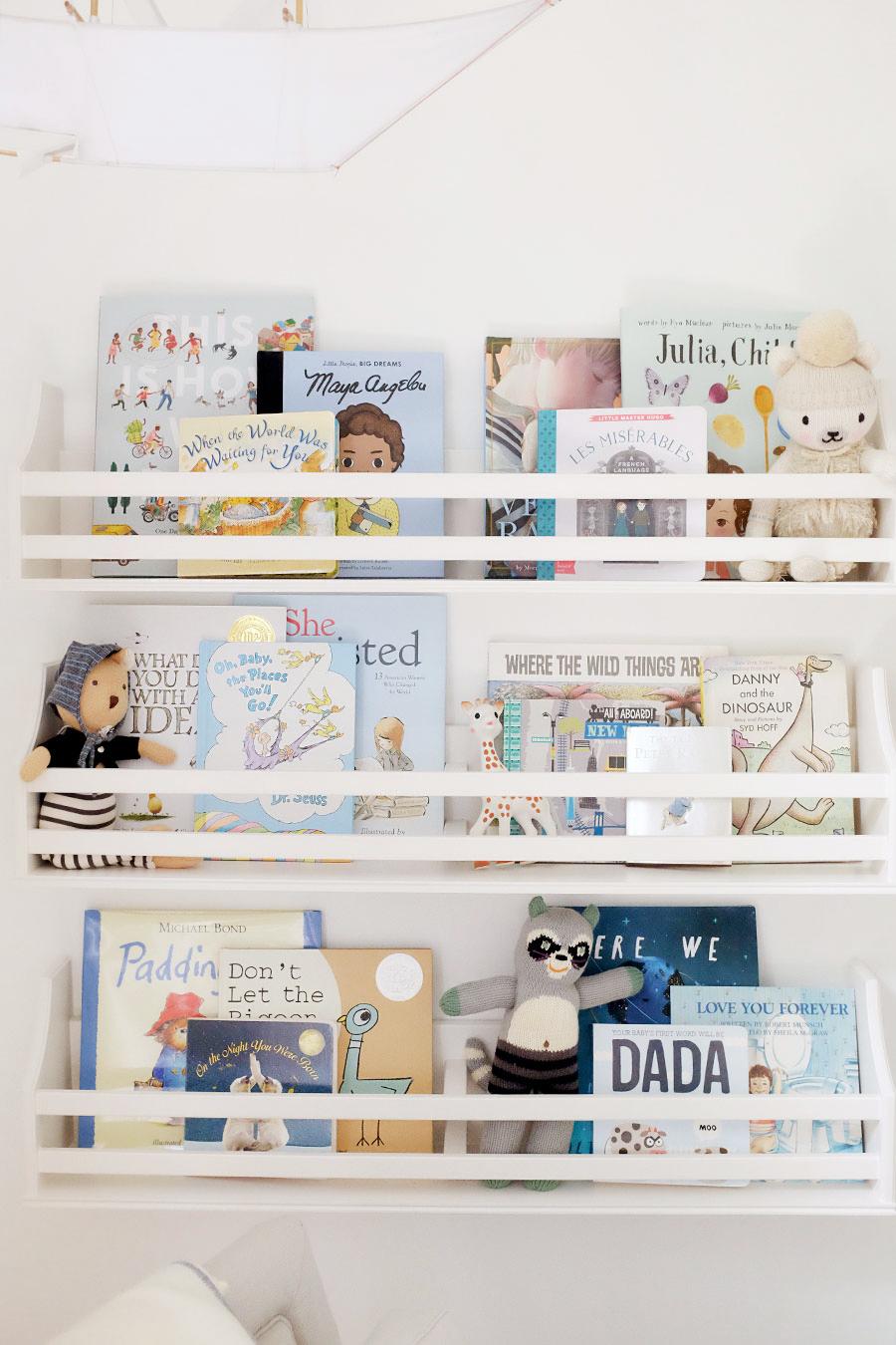 Alaina Kaczmarski Nursery Bookshelf
