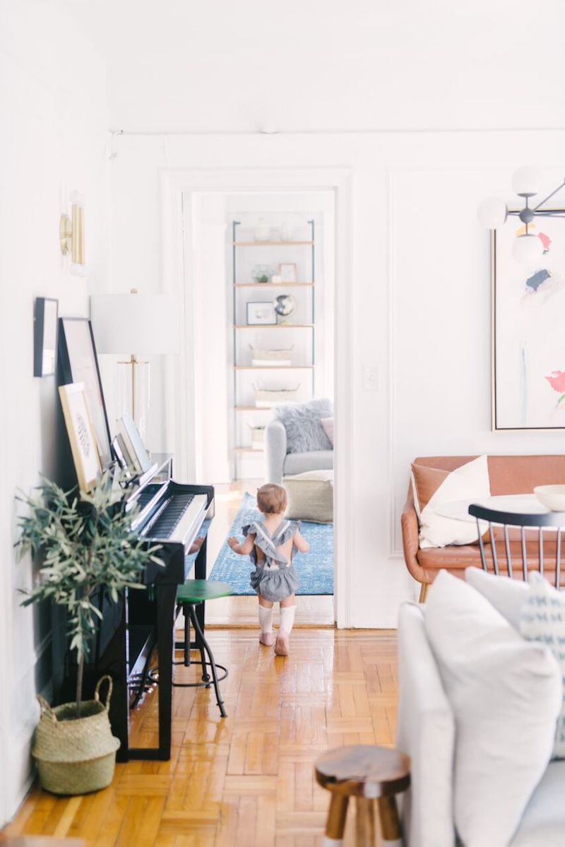 This Family Uses Every Inch of Their 700 Sq. Ft. Apartment ...