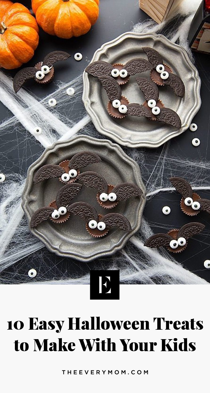 Easy Halloween Treats To Make With Your Kids The Everymom