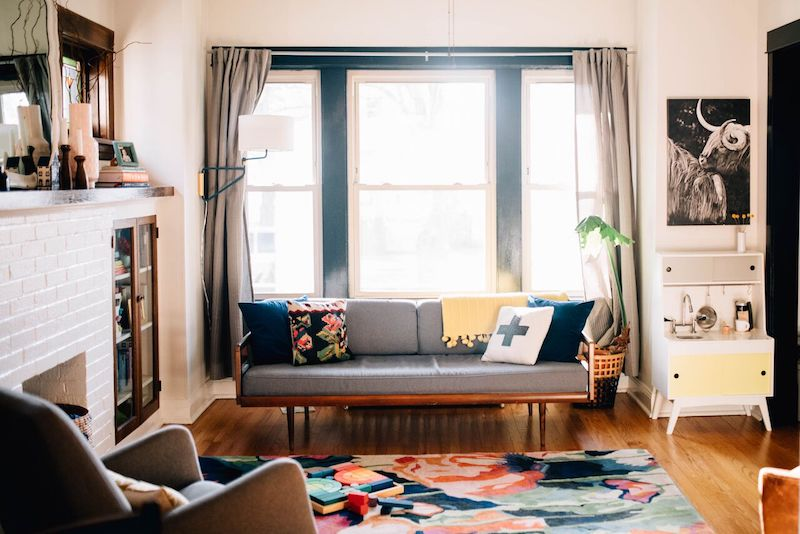 This Cozy Bungalow Embraces Small Space Living The Everymom