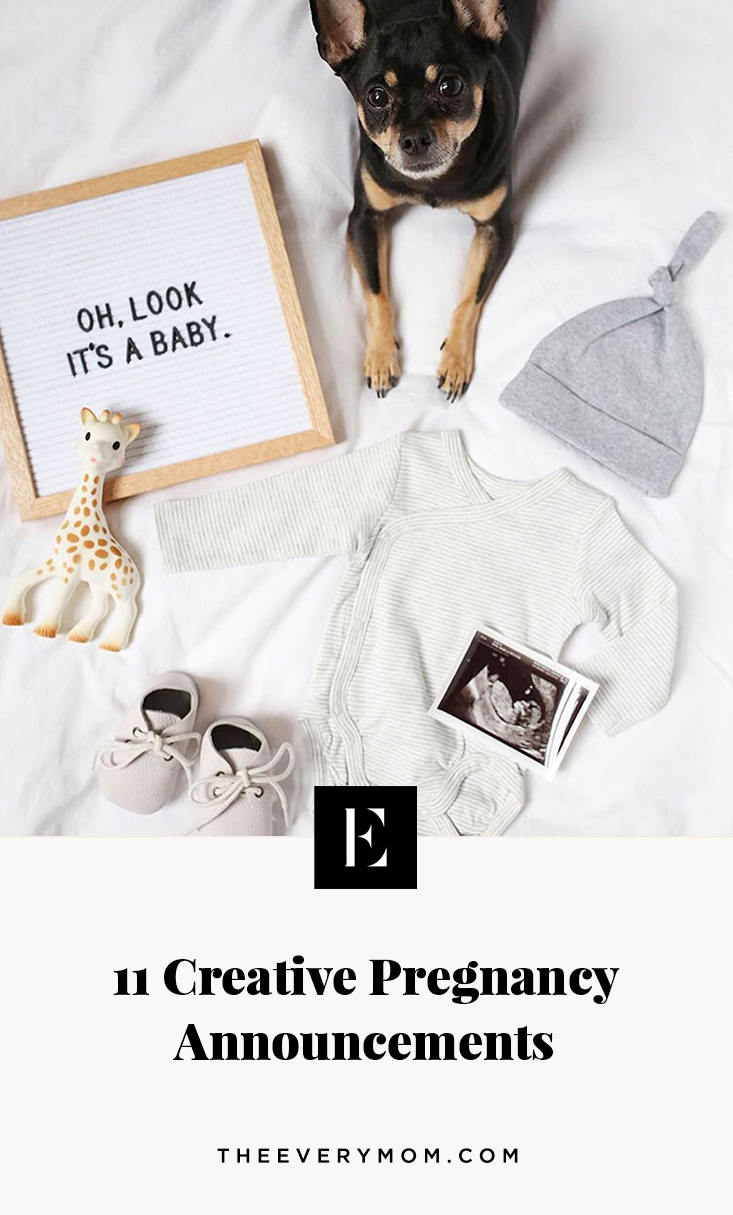 11 Creative Ways to Announce Your Pregnancy   The Everymom