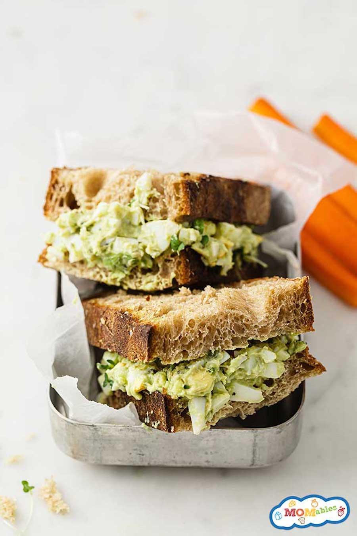 avocado egg salad sandwich recipe