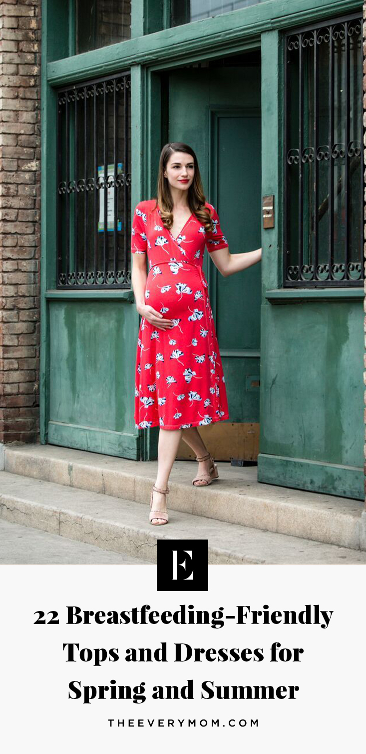 22 Breastfeeding Friendly Tops And Dresses For Spring And Summer The Everymom