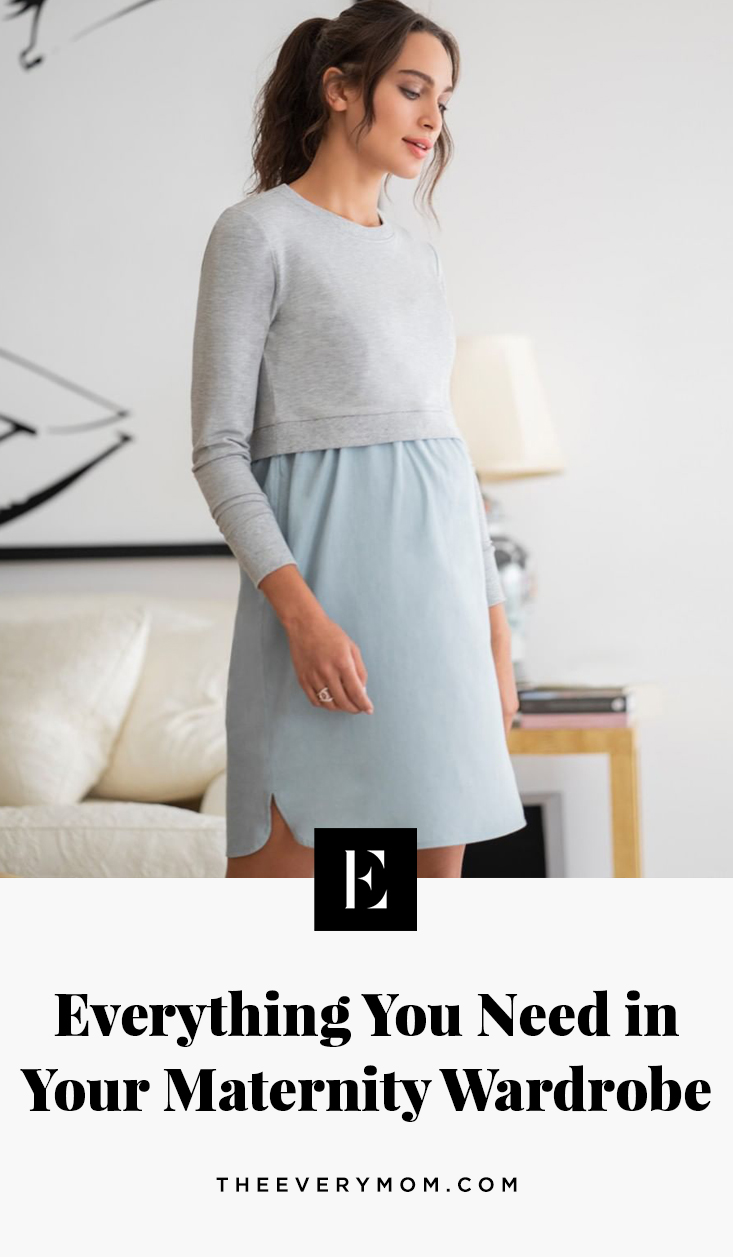 Maternity Wardrobe Pieces 5 Clothing Items You Need The Everymom