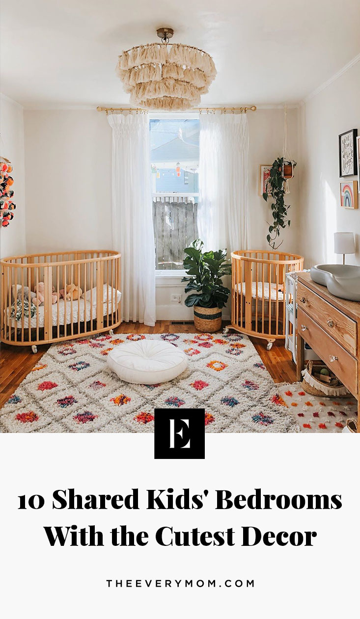 Picture of: 10 Shared Kids Bedrooms With The Cutest Decor The Everymom