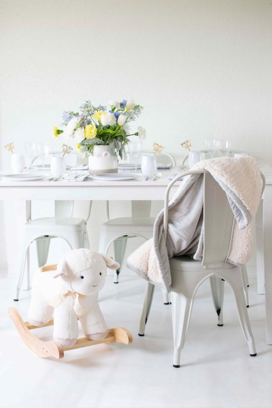 baby shower theme lamb