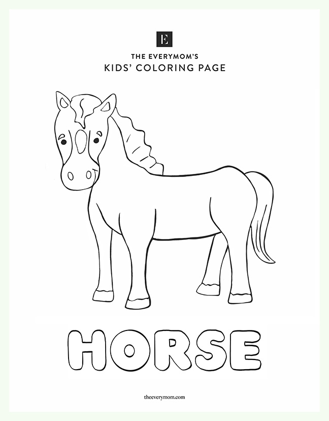 Free Printable Kids Coloring Pages | 828x648