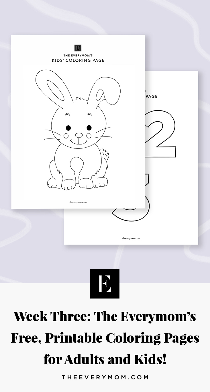 - Coloring Pages For Kids And Moms Week 3 The Everymom