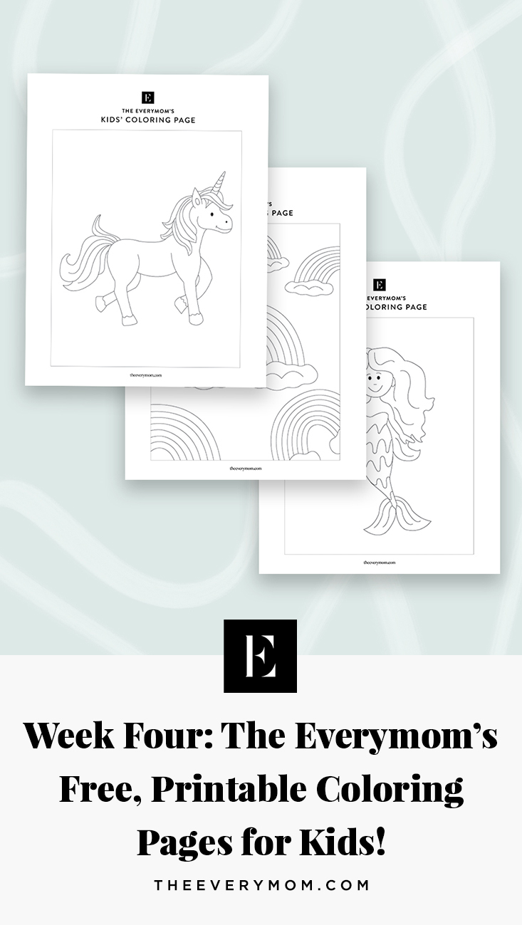 Free Printable Coloring Pages For Kids The Everymom