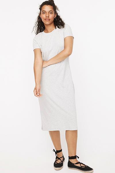 jcrew mom uniform summer dress