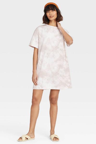 target tie dye mom uniform summer dress