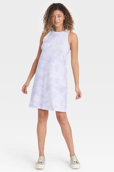 target knit tank mom uniform summer dress