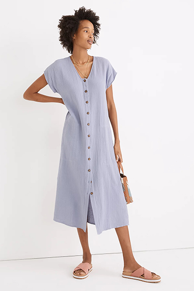 madewell mom uniform summer dress