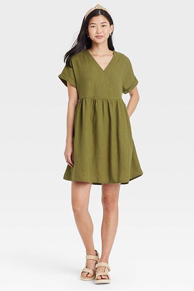 target shirtdress mom uniform summer dress