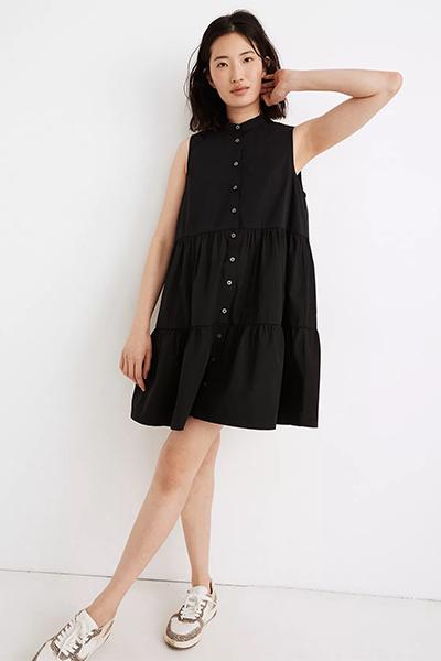 madewell button-down mom uniform summer dress