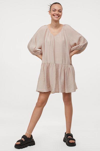 h&m airy mom uniform summer dress