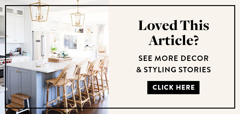 decor & styling articles