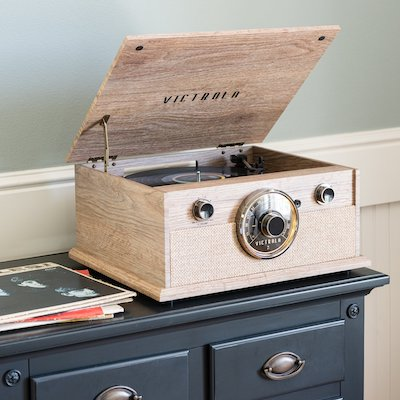 fathers day gift guide record player