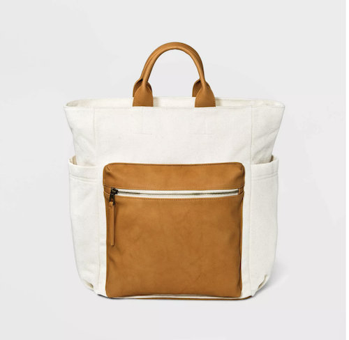 Target Soft Utility Square Backpack