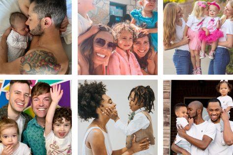 LGBTQ+ families on instagram