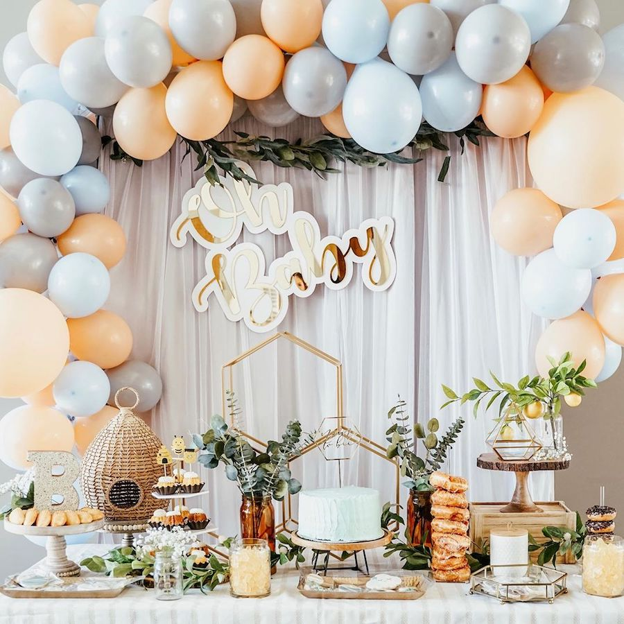 baby shower theme bees