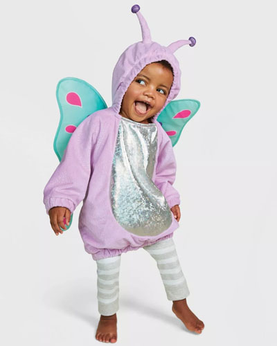 sibling Halloween costumes butterfly