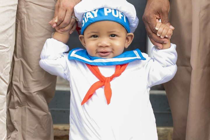 baby's first halloween costume