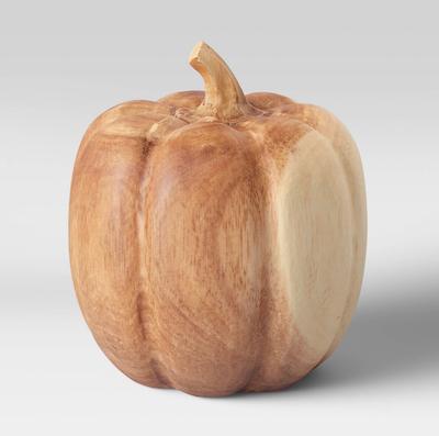 fall budget decor pumpkin
