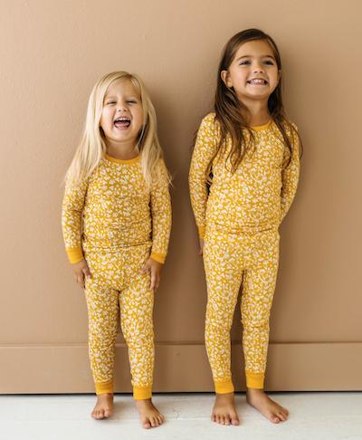 fall kids pajamas