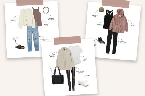 school pick-up outfits