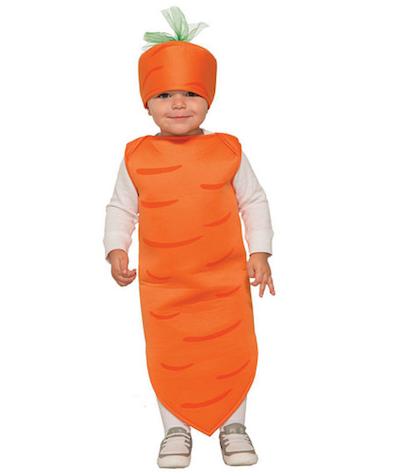 sibling costume carrot