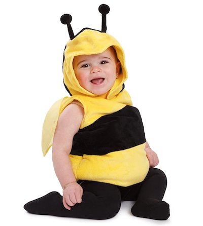 bee costume sibling Halloween costumes