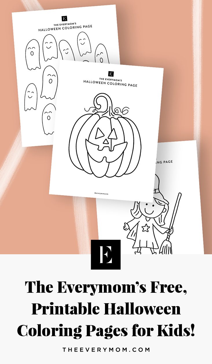 Printable Halloween Coloring Pages for Kids | The Everymom