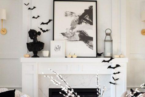 halloween bats decor