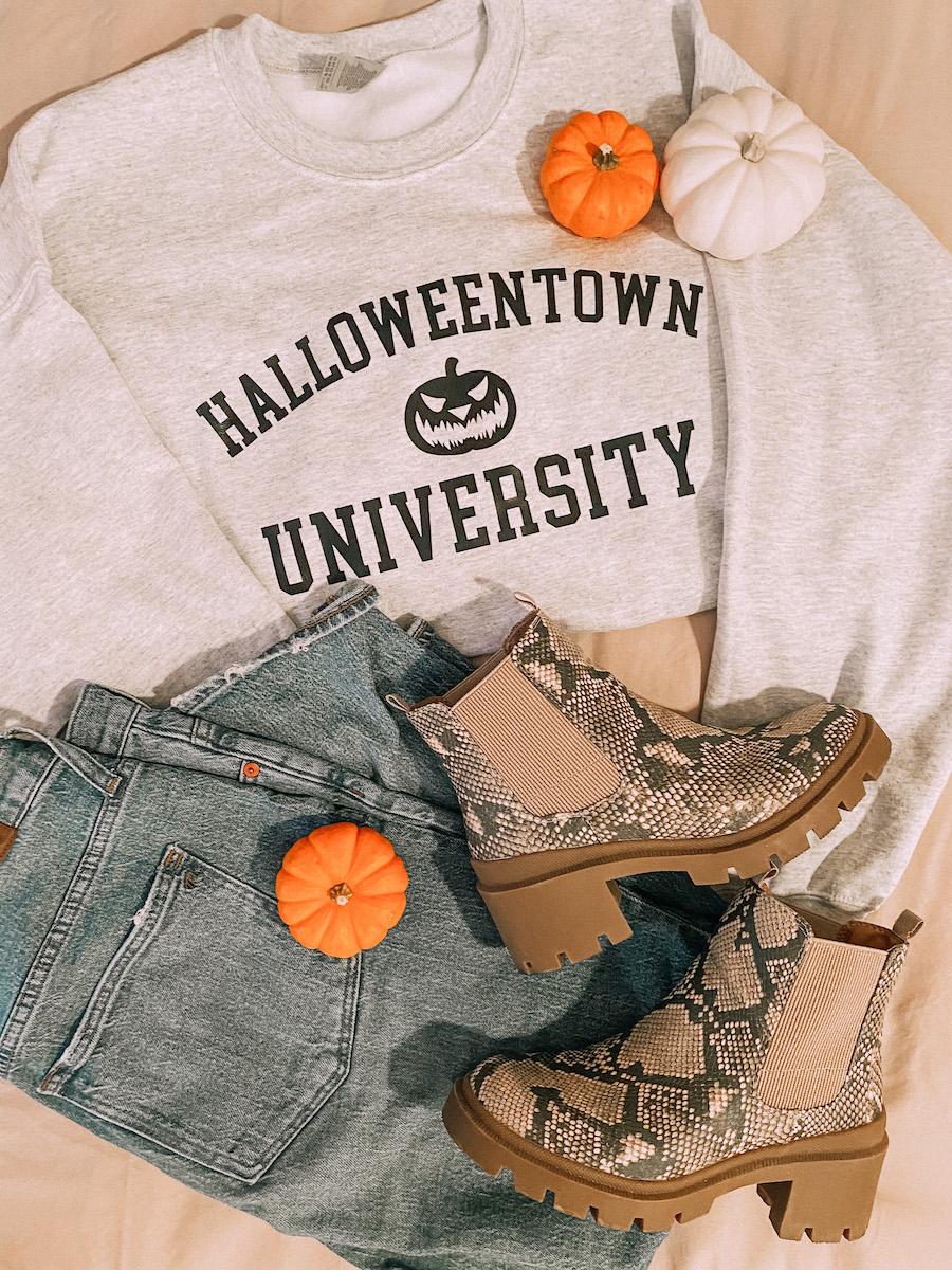 halloween ourfit
