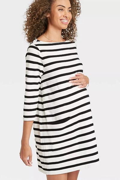 target nines by hatch striped dress