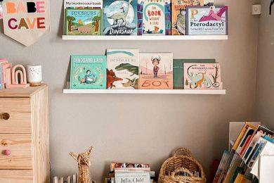 kids book nook