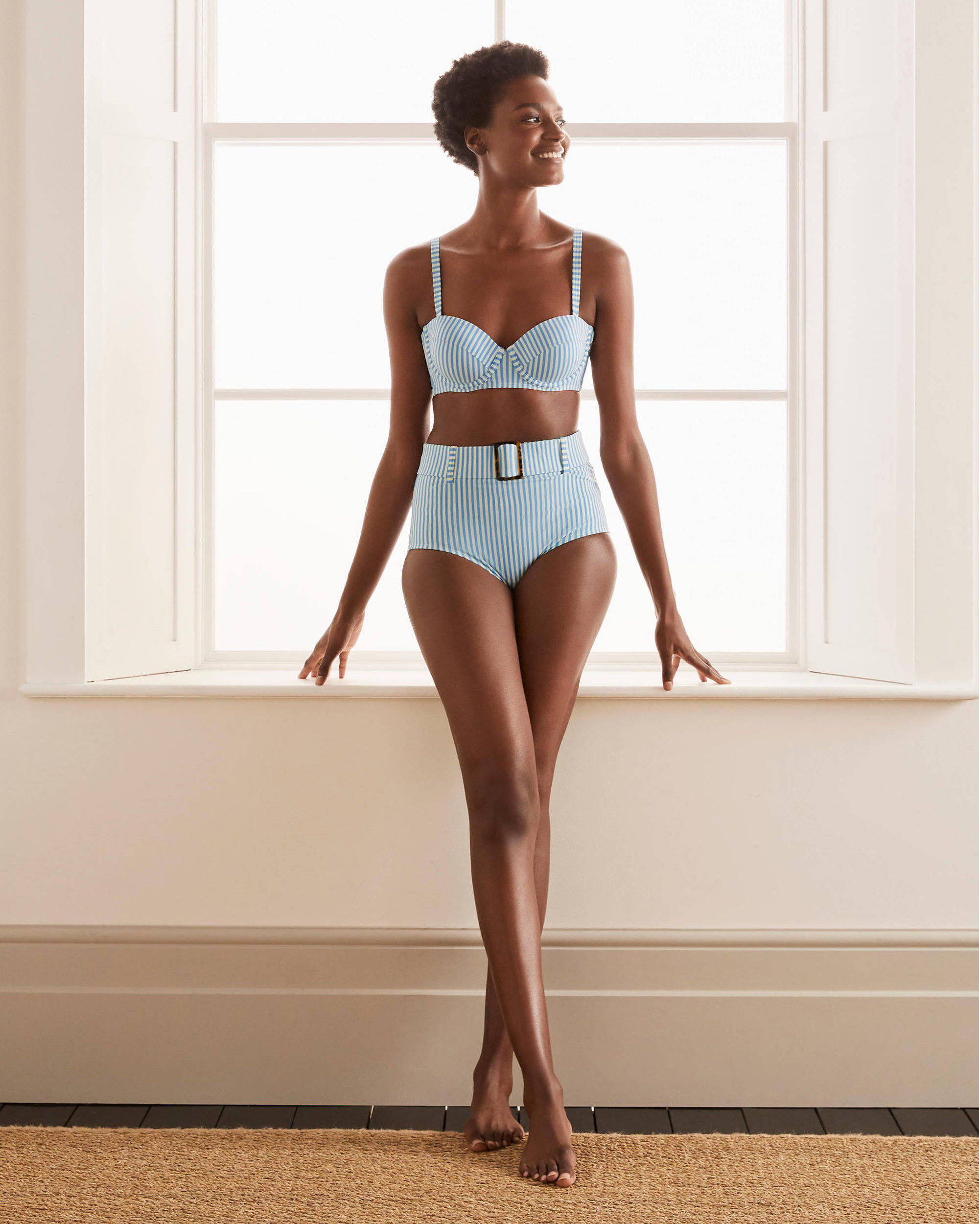 classic 1950s swimsuit style by boden