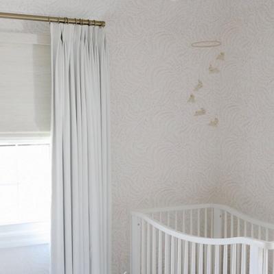 pretty nursery wallpaper