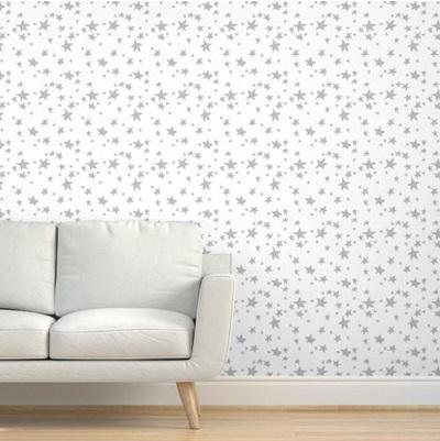 star nursery wallpaper
