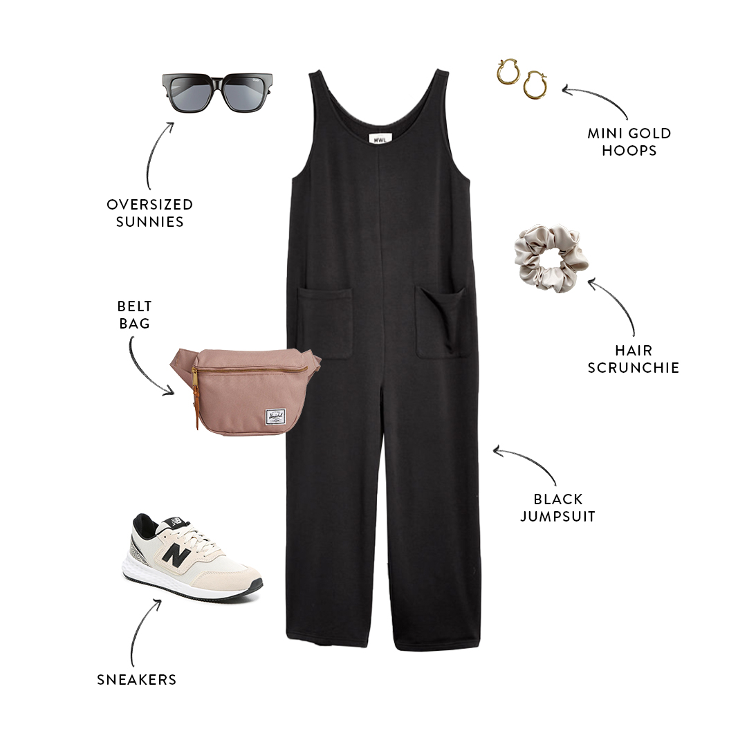 mom-friendly jumpsuit outfit