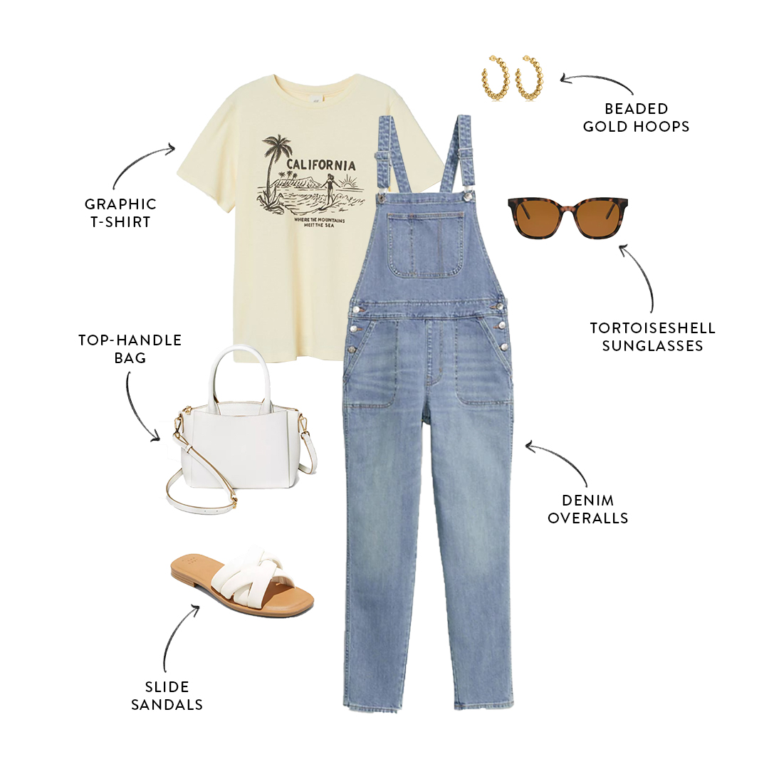 mom-friendly overalls outfit