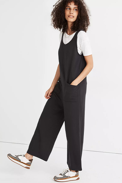 madewell jumpsuit for moms