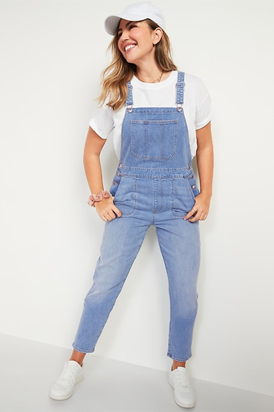 old navy overalls for moms