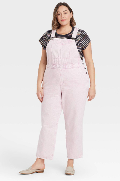 target pink overalls for moms