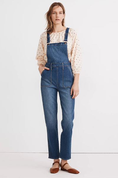madewell overalls for moms