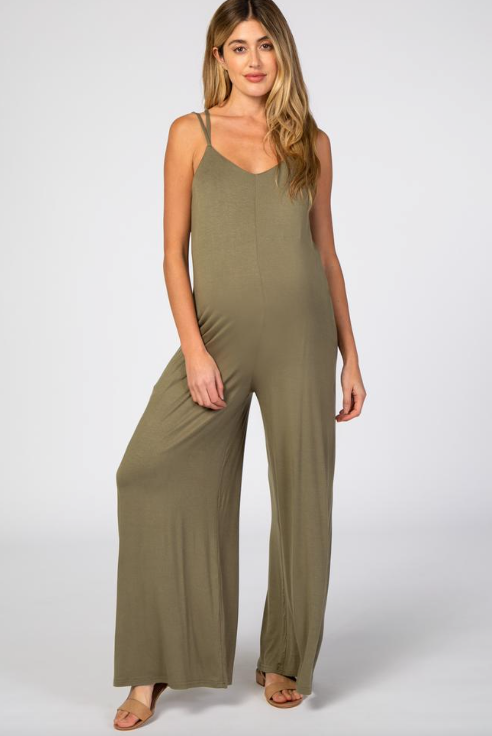 olive maternity overalls for moms