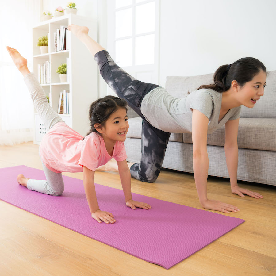 at-home workouts for kids
